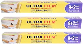 Ultra Film 11 Mtr Cling Film (Pack Of 3)