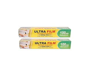 Ultra Film Cling Wraps 100 Meter (Pack Of 2)