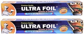 ULTRA FOIL 25 Metre Aluminium Foil (Pack of 2)