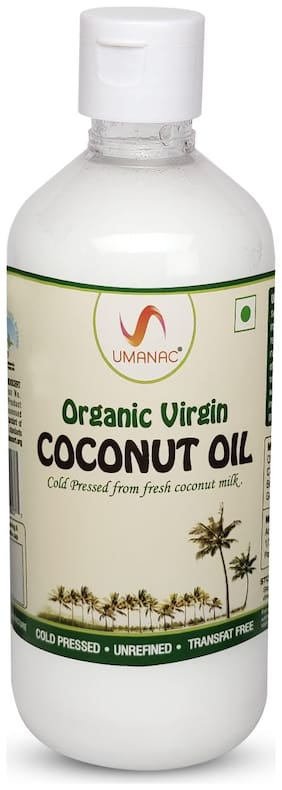 Umanac Organic Virgin Coconut Oil 500ml