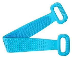 Unbox Silicone Body Brush Scrubber/Bath Body Cleaning Belt|Skin Brush Belt|Exfoliating|Exfoliator Body Washable Scrubber|Scrubber Belt For Skin|Bathing/Body Dirt Removal