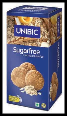 Unibic Cookies - Oatmeal (Sugar Free) 75 gm