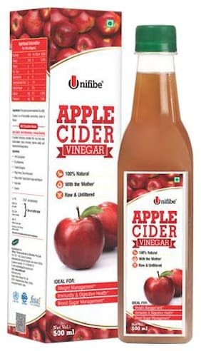 Unifibe Apple Cider Vinegar - Natural, With Mother 500 ml