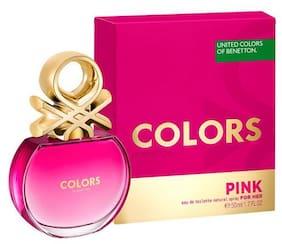 United Colors Of Benetton Colors Pink For Her Eau De Toilette 50 ml