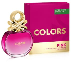 United Colors of Benetton Colors Pink 80 ml edt women