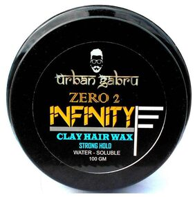 Urbangabru Zero To Infinity Hair Wax For Strong Hold And Volume