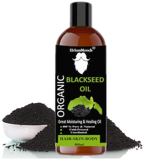 UrbanMooch Natural & Organic Black Seed Oil 100ml