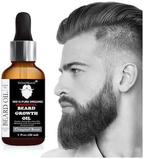 UrbanMooch PowerFull & Moustache Beard Growth Oil Hair Oil (30 ml)