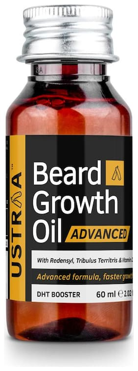 Ustraa Beard Growth Oil- Advanced - 60 ml