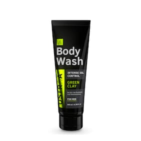Ustraa Body Wash - Green Clay - 200 ml