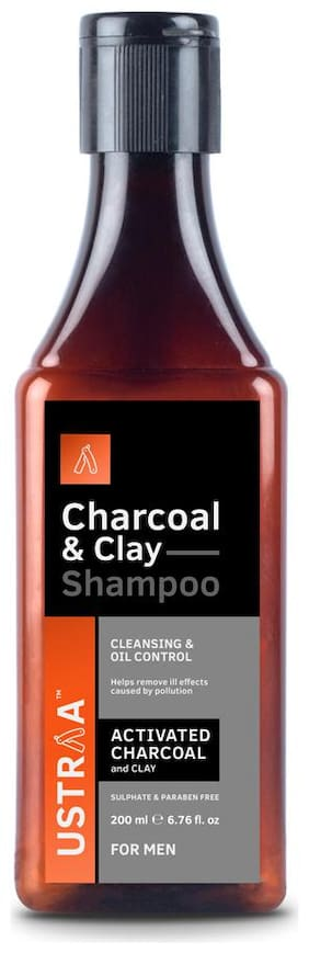 Ustraa Charcoal & Clay Shampoo- 200 ml