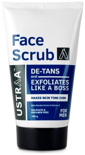 Ustraa Face Scrub-De Tan 100 G