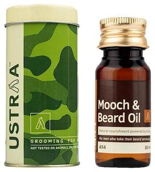 USTRAA Mooch & Beard Oil - 4X4 35 ml