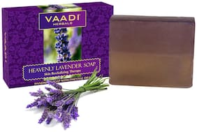 Vaadi Herbals Heavenly LAVENDER SOAP with Rosemary extract - 75g(Pack of 1)