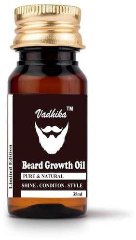 Vadhika 100 % Pure & Organic Beard Growth oil 35ml