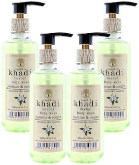 Vagads Khadi Jasmine and Mogra Body Wash (Pack of 4)