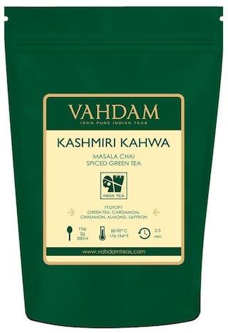VAHDAM Teas Kashmiri Kahwa Green Tea 100g
