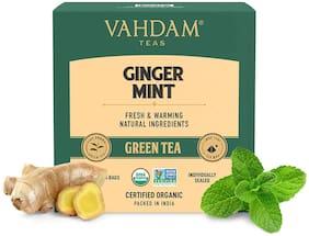 Vahdam Teas Ginger Mint Green Tea ( 15 Tea Bags x 2g ) Pack Of 1