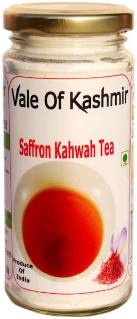 Vale Of Kashmir Kashmiri Kahwa Powder Tea Glass Bottle | Instant Mix Tea-200 g