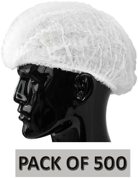 Vamear Surgical Head Cap  (Disposable)Pack of 500