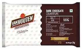 Van Houten Dark chocolate couverture 1 Kg