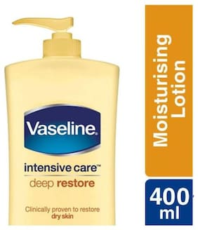 Vaseline Intensive Care Deep Restore Body Lotion 400 ml (Pack of 1)