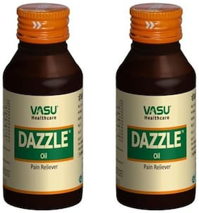 Vasu Healthcare Dazzle Oil help to Pain Releive, 60 ml (Pack of 2)