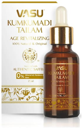 Vasu Kumkumadi Tailam Age Revitalizing Oil 25 ml