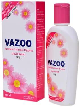 Vazoo Feminine intimate Hygiene Liquid Wash For Women Enriched withTea Tree Oil, Lavender Oil, Oregano Oil, Pine Oil & Aleo Vera Oil (100 ml Pack of 2)