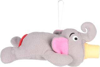 VBaby Elephant Shape Cute Soft Toy Milk Feeding Bottle Cover 0 -24 Months (Pack Of 1)