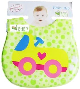 VBaby Premium Bib Soft Baby Bibs Waterproof Bib for Baby Bib for Newborn Toddler 3-24 Months Multi Color Pack of 1