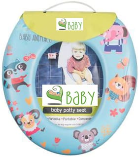 VBaby Soft Comfortable Cartoon Cushion Potty Seat Toilet Seat Potty Trainer Seat