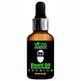 VCOS COSMETICS Premium Beard Growth Oil Hair Oil (30 ml)