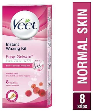 Buy Veet Full Body Waxing Kit Normal Skin Online At Low Prices