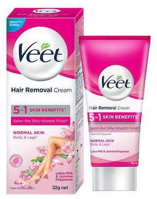 Buy Veet Hair Removal Cream For Normal Skin 32 G Online At Low Prices In India Paytmmall Com