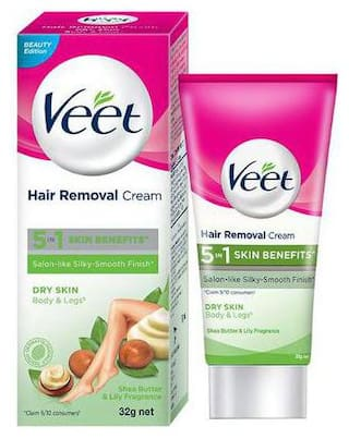 Buy Veet Hair Removal Cream For Dry Skin 32 G Online At Low Prices