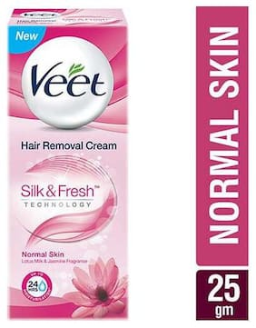 Veet Hair Removal Cream Silk & Fresh  Normal Skin 25 g