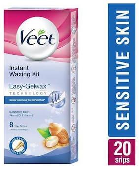 Veet Waxing Kit Full Body - Sensitive Skin 20 Strips