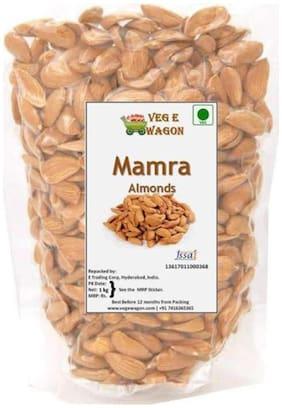 """Veg e Wagon Mamra Almond 250 Almonds (250 g, Pouch)"""