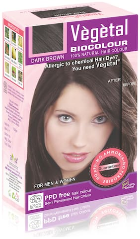 Vegetal Bio Colour-Dark Brown 25 g