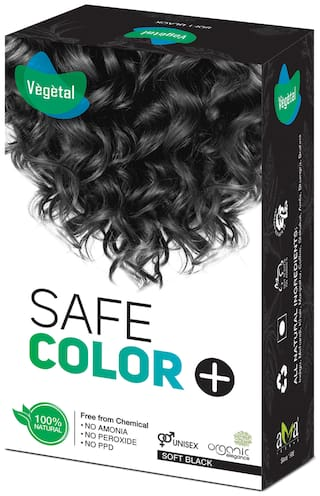 Vegetal Safe Color+ -Soft Black 50 g