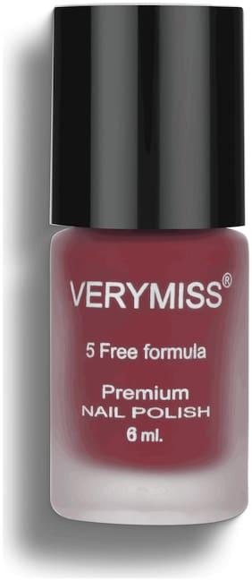Verymiss-Premium Nail Polish 6 ml-Red In Hot
