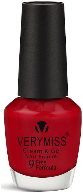 VERYMISS VERYMISS CREAM & GEL Nail Polish SPICY RED 15 mL