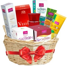 VI-JOHN Saffron Advance 50 gm;Day Cream 50GM & Face Serum 30ml;LIP BALM ORANGE ALOEVERA 10GM;FACE WASH LEMON 20ML;Liquid Foundation 50gm & Perfume RED VELVET 30ml (pack of 7)