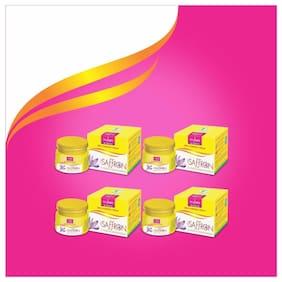 VI-JOHN Saffron Fairness Cream Haldi Chandna Pack of 4