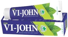 VI-JOHN Shaving Cream Icy Mint 125 gm Pack of 12