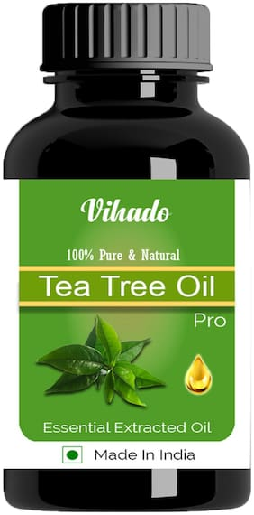 Vihado 5 ml Pure & Natural Tea Tree Essential Oil Pack of 1