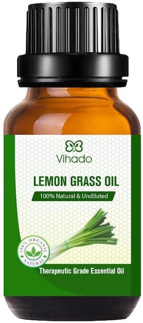 Vihado Best Lemon Grass Essential Oil (30 ml) (Pack of 1)