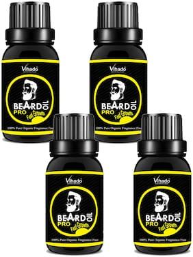 Vihado Lite Beard and Mustache Oil 25 ml (Pack of 4)