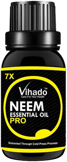 Vihado Neem Oil 7X Pro For Hair & Skin (25 ml)